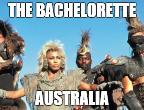 Bachelorette and the thunderdome